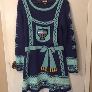 Dresses & Skirts - Ugly Christmas Hanukkah sweater dress